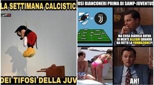 Sampdoria-Juventus 3-2: i social non perdonano la squadra di Allegri