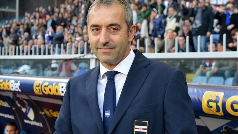 Serie A Sampdoria, Giampaolo: «Niente ansia. Siamo già una sorpresa»
