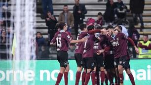 Serie B Salernitana-Cremonese 1-1: Arini risponde a Ricci
