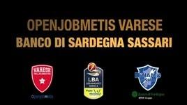 Openjobmetis Varese-Banco di Sardegna Sassari