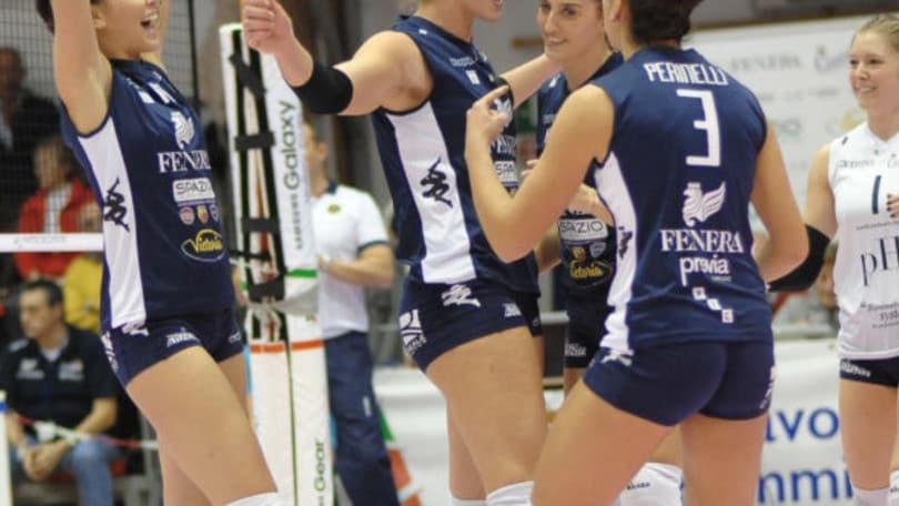 Volley: A2 Femminile, Cuneo nel cade derby, ammucchiata in testa