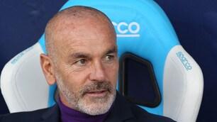 Serie A Fiorentina, Pioli: «La strada è ancora un po' in salita»