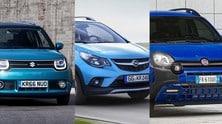 Mini SUV da città a confronto: Ignis, Karl Rocks e Panda City Cross
