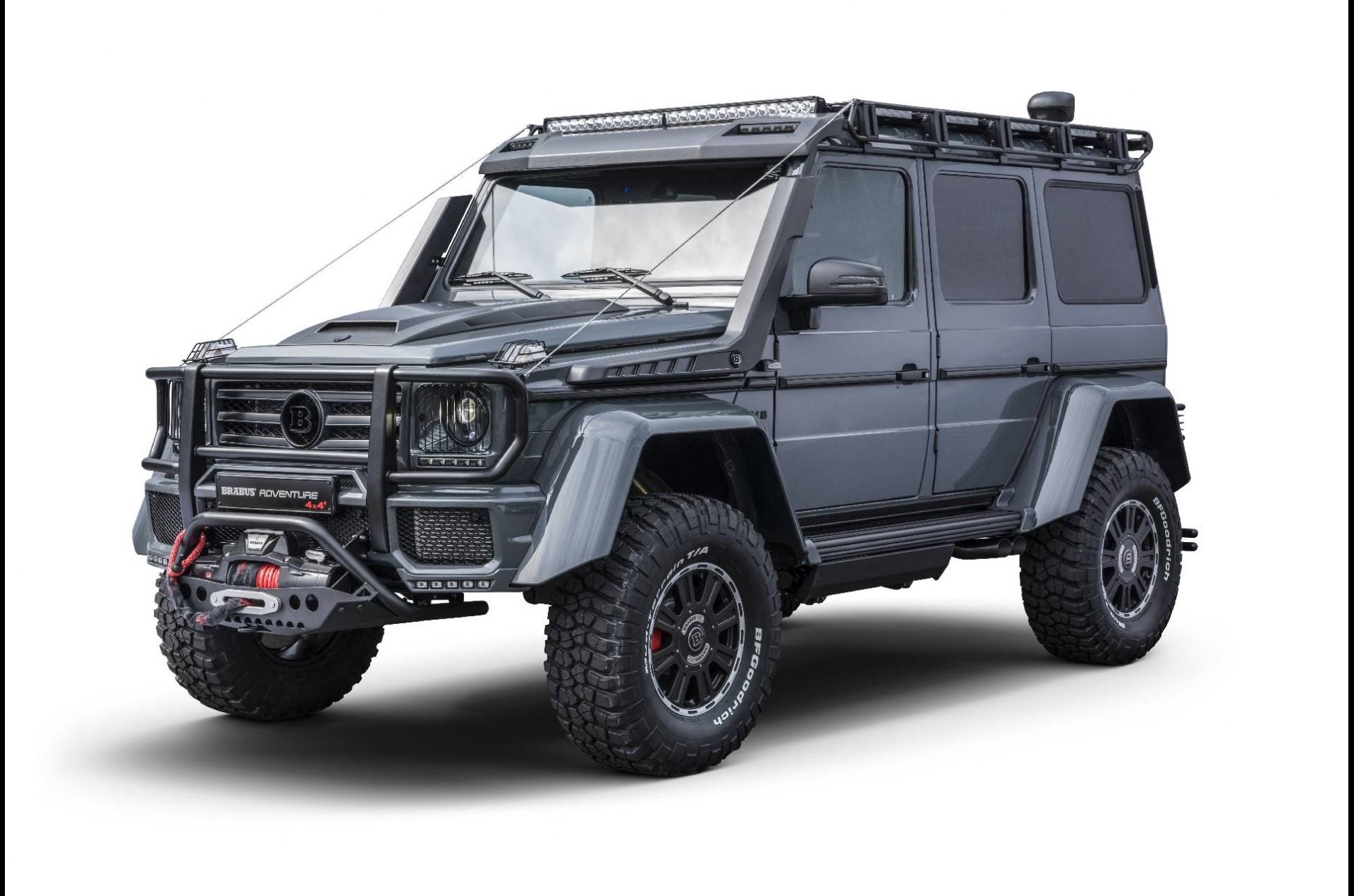 Brabus Adventure 4x4², la Mercedes pronta per l'apocalisse