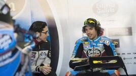 Moto2, a Tavullia festa in piazza per Morbidelli