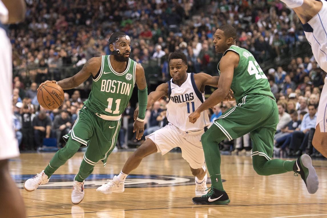 Irving devastante: Boston schianta anche Dallas. Clippers e Hawks ko