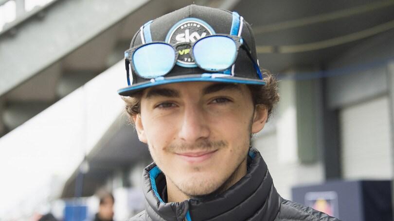 Moto2, test a Valencia: Bagnaia ancora a segno con lo Sky Racing Team
