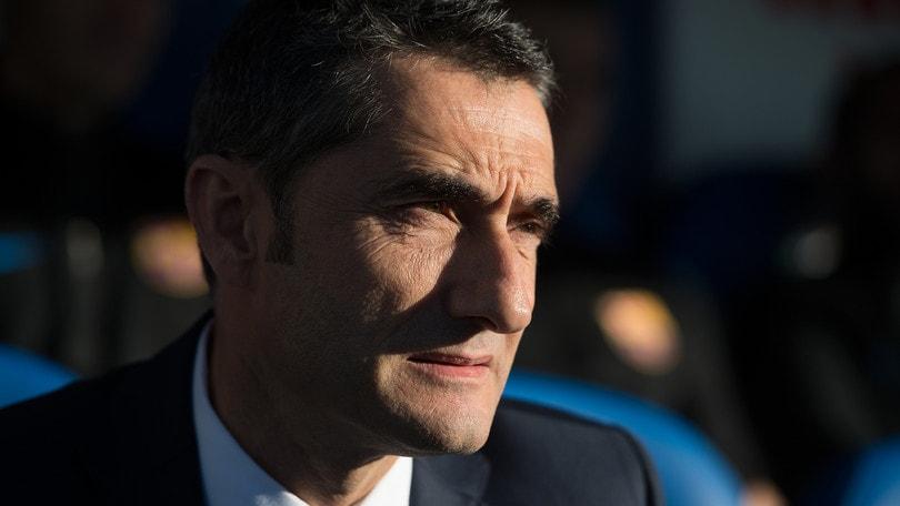 Barcellona, Valverde: «Juventus, vogliamo vendicare quel 3-0»