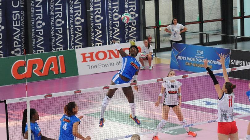 Volley: A1 Femminile, Terry Enweonwu sarà operata al ginocchio