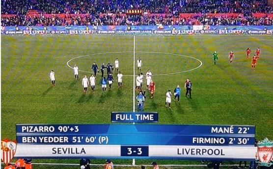 Liverpool rimontato. Ben Yedder, dedica al Milan: «Hai visto?»