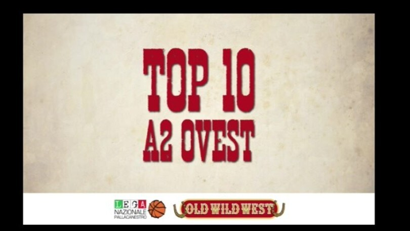 Top 10 - 8^ giornata Serie A2 Old Wild West girone Ovest
