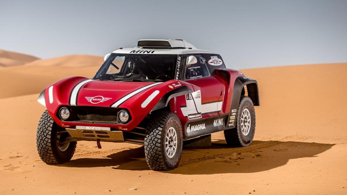 Mini presenta un Buggy da 340 cavalli per la Dakar 2018