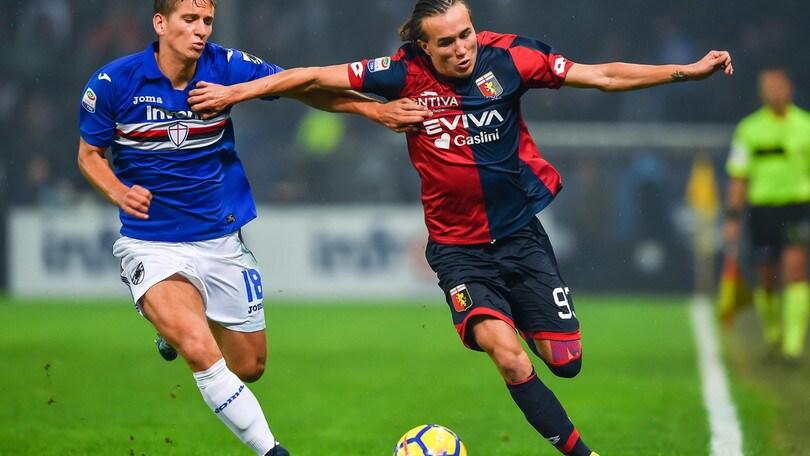 Serie A Sampdoria, per Praet lavoro individuale