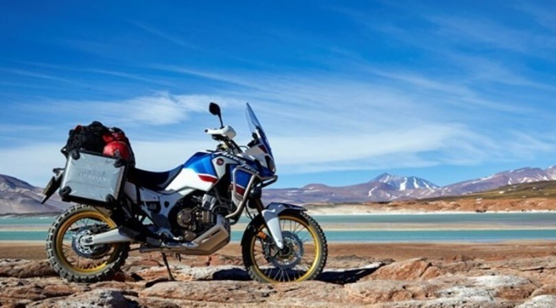 Honda Africa Twin Adventure Sports, non provate a fermarla