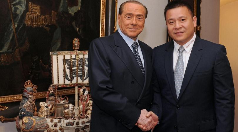 Milan, Berlusconi in sostegno dei proprietari cinesi: «Hanno sempre rispettato gli impegni»