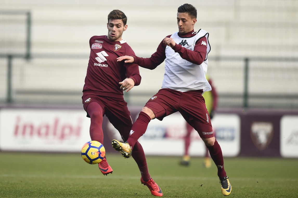 Serie A Torino, allenamento regolare per Barreca