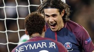 Champions League, Psg sette bellezze con Cavani-Neymar. Blitz Bayern, Mourinho cade al 90'