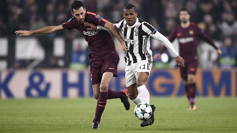 Champions League, Juventus-Barcellona 0-0, il tabellino