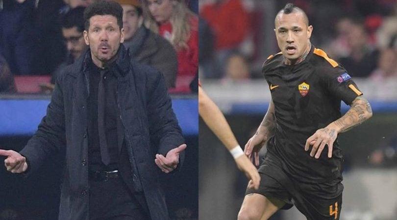 Simeone: «Nainggolan sarebbe straordinario per noi». Il belga: «Ho scelto la Roma»