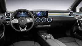 Mercedes-Benz: ecco gli interni della nuova Classe A