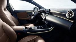 Mercedes-Benz Classe A: le foto del nuovo abitacolo