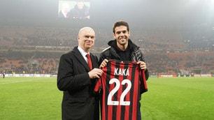 Milan, San Siro omaggia Kaká