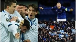Everton-Atalanta 1-5: la 'Dea' umilia Rooney ed entra nella storia
