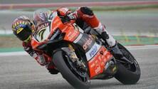 SBK Ducati, Davies: «A riposo assoluto dopo la caduta»