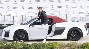 Audi consegna al Real la nuova flotta