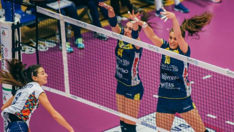 Volley: A2 Femminile, Mondovì-Battistelli è la partitissima