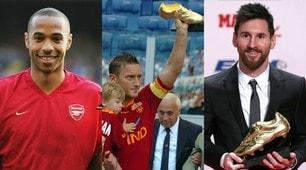 Scarpa d'oro, i 10 vincitori del nuovo millennio: ci sono 2 italiani