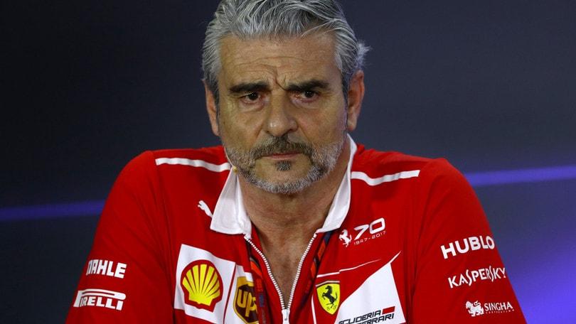 F1 Ferrari, Arrivabene: «Un risultato che non ci soddisfa»