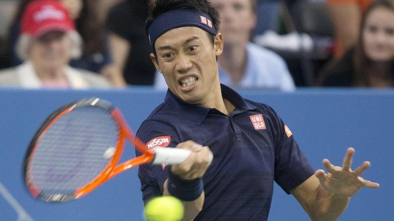 Coppa Davis, problemi al polso per Nishikori: in dubbio per l'Italia