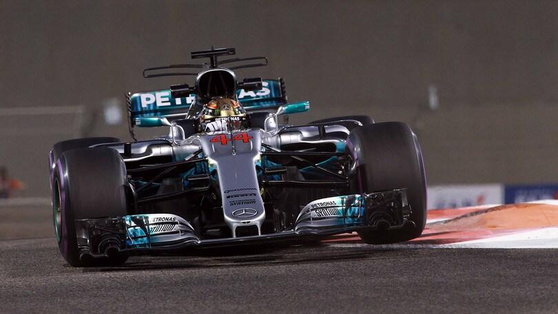 F1, Abu Dhabi: terze libere a Hamilton, Raikkonen terzo