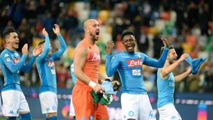 Serie A, Udinese-Napoli 0-1: Jorginho riporta gli azzurri in vetta