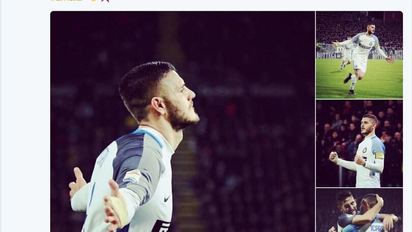 Icardi: «Inter, si continua»