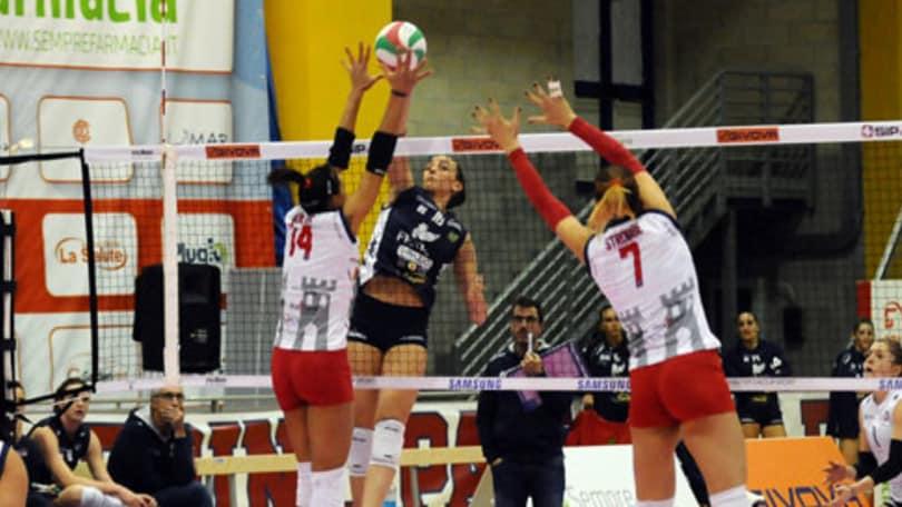 Volley: A2 Femminile, in due al comando: Mondovì e Soverato