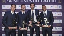 Top 11 del 2016/17: ci sono 7 giocatori della Juventus