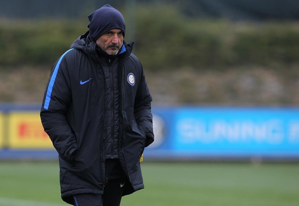 Inter, Spalletti sfida il freddo ad Appiano