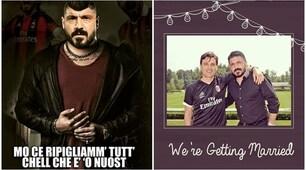 Milan, Gattuso-show in conferenza e i social impazziscono