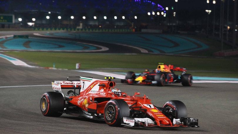 F1, Abu Dhabi: Raikkonen il più veloce nei test