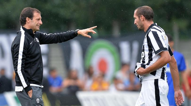Juventus, Chiellini avvisa il Napoli: «Al San Paolo non mancherò»