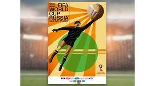 Russia 2018, ecco il poster ufficiale