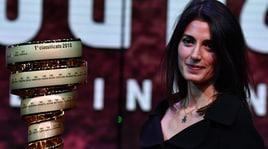 Giro d'Italia 2018, la sindaca di Roma Raggi alla presentazione