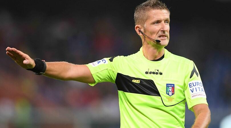Serie A Lazio-Udinese, arbitra Banti. Sampdoria-Roma ad Orsato