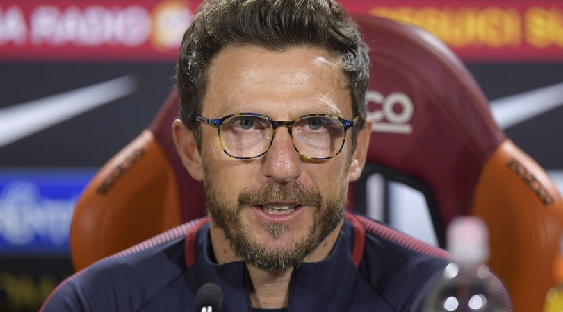 Roma, Di Francesco: «Nainggolan ko, Schick dall'inizio o a gara in corso»