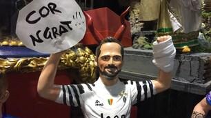 Napoli-Juventus, Higuain con la mano fratturata anche nel presepe