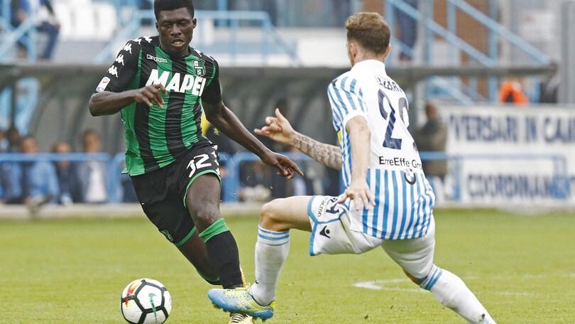 Serie A Sassuolo, Duncan non recupera per la Fiorentina