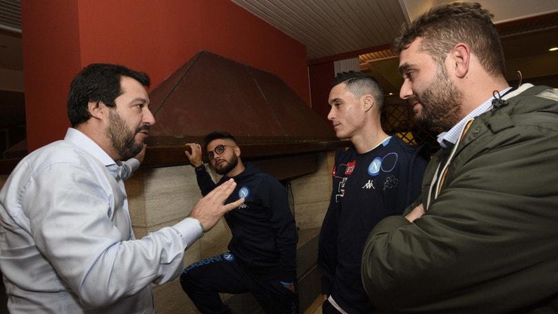 Napoli: «Non abbiamo accettato le scuse di Salvini»