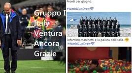 Mondiali 2018, ecco il sorteggio senza l'Italia: il web infuriato